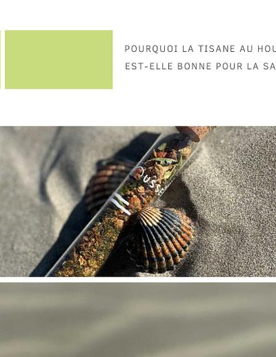 Bienfaits de l'amère - tisane au houblon